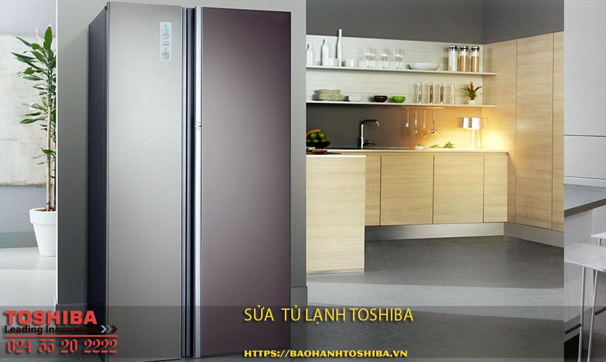 Cung cấp dịch vụ sửa tủ lạnh Toshiba chính hãng tại Hà Nội