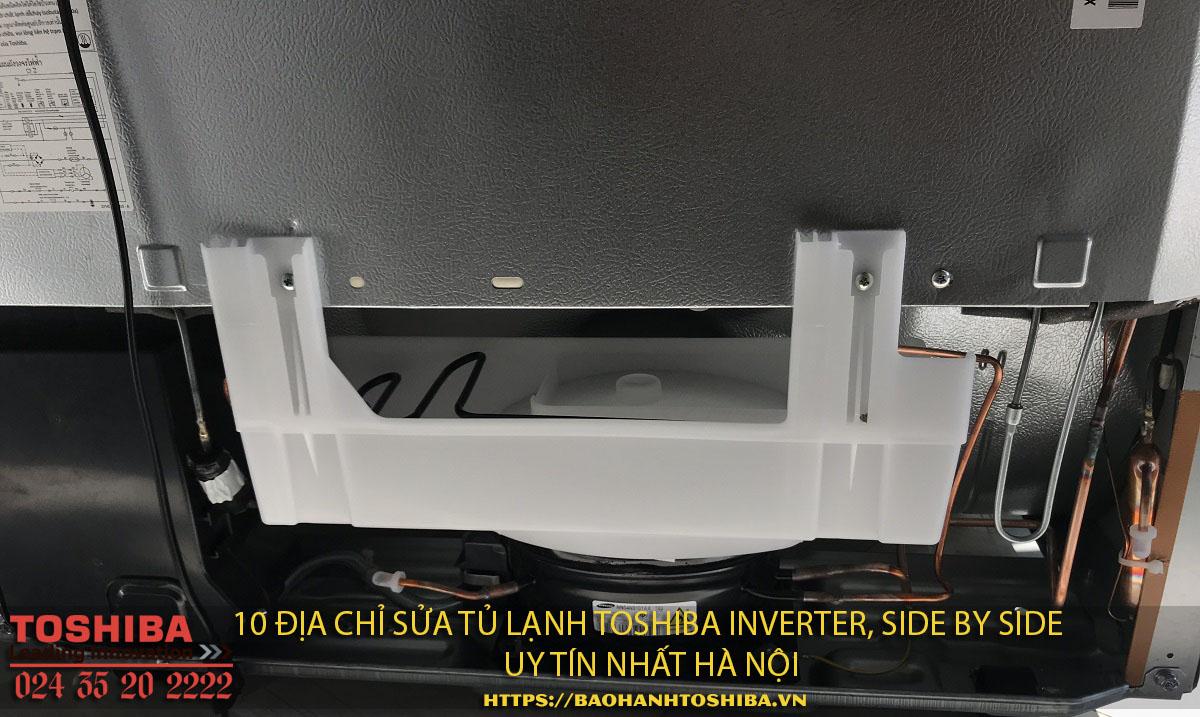 10 địa chỉ sửa chữa tủ lạnh Toshiba inverter – side by side tốt nhất Hà Nội